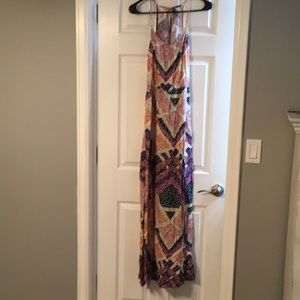 Beautiful quilted maxi dress size 8 H&M worn once